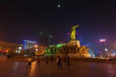 Estátua de Mao Zedong Imagem de Stock Royalty Free