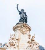 Estátua de Marianne imagens de stock