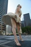 Estátua de Marilyn Monroe imagens de stock royalty free