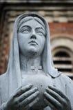 Estátua de Mary da matriz Fotografia de Stock Royalty Free