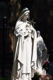 Estátua de Mary de Virgin Imagens de Stock Royalty Free