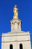 Estátua de Mary de Virgin em Avignon, France Fotos de Stock Royalty Free