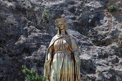Estátua de Mary de Virgin Imagem de Stock