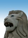 A estátua de Merlion Fotos de Stock Royalty Free