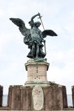 Estátua de Michael Archangel de Saint Fotos de Stock Royalty Free