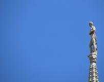 Estátua de Milão dos di do domo Imagens de Stock Royalty Free