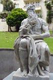 Estátua de Moses em Auckland Nova Zelândia imagem de stock royalty free