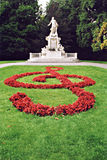Estátua de Mozart em Viena Fotos de Stock