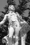 Estátua de Mozrat de Viena imagem de stock