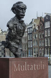 Estátua de Multatuli Fotografia de Stock