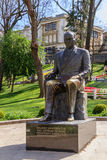 Estátua de Mustafa Kemal Ataturk Foto de Stock