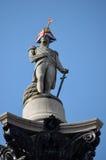 Estátua de Nelson da Olimpíadas fotografia de stock