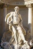 Estátua de Netuno fotografia de stock
