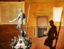 A estátua de Netuno fotos de stock