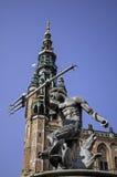 Estátua de Netuno em Florença Fotos de Stock Royalty Free