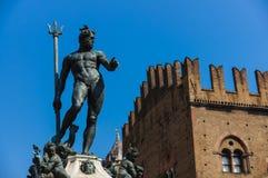 Estátua de Netuno em Florença Foto de Stock Royalty Free