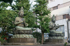 Estátua de Nisonbutsu buddha Foto de Stock
