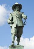 Estátua de Oliver Cromwell Foto de Stock Royalty Free