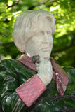 Estátua de Oscar Wilde Fotografia de Stock Royalty Free