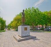 Estátua de Ostad Ali Akabar Isfahani Fotos de Stock