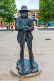 Estátua de Paul Cezanne impressionista em Aix-en-Provence Imagens de Stock Royalty Free