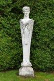 Estátua de pedra, abadia de Mottisfont, Hampshire, Inglaterra fotografia de stock royalty free