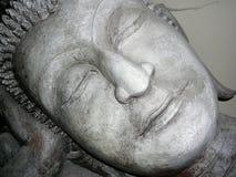 Estátua de pedra da Buda em Tailândia Imagem de Stock