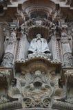 Estátua de pedra da igreja Imagens de Stock