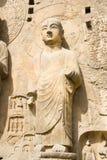 Estátua de pedra de buddha fotografia de stock royalty free
