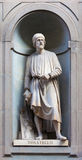 Estátua de pedra de Donatello Foto de Stock Royalty Free