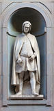 Estátua de pedra de Giotto Fotografia de Stock