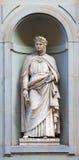 Estátua de pedra de Giovanni Boccaccio Imagens de Stock