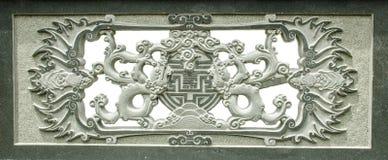 Estátua de pedra de uma monge Imagens de Stock Royalty Free