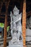 Estátua de pedra de Vishnu em Gunung Kawi Fotos de Stock Royalty Free