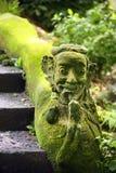 Estátua de pedra do Balinese fotografia de stock