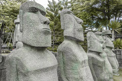 Estátua de pedra humana Foto de Stock Royalty Free