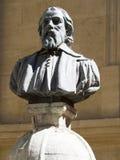 Estátua de Peiresc em Aix-en-Provence, França Fotografia de Stock Royalty Free