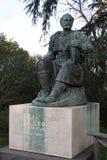 Estátua de Petar II Petrovic-Njegos na casa de campo Borghese, Roma Foto de Stock