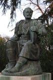 Estátua de Petar II Petrovic-Njegos na casa de campo Borghese, Roma Imagem de Stock Royalty Free