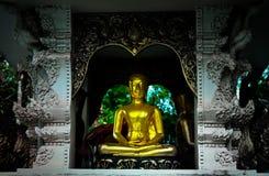 Estátua de Phra Upakut das monges budistas imagem de stock royalty free