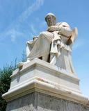 Estátua de Plato Fotos de Stock