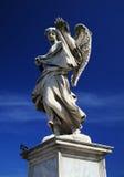 Estátua de Ponte Sant'Angelo foto de stock