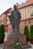Estátua de Pope John Paul Ii Imagem de Stock Royalty Free