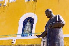 Estátua de Pope John Paul Ii imagens de stock royalty free