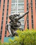 Estátua de Portlandia, portland oregon Foto de Stock