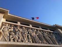 Estátua de Puteaux França Imagens de Stock Royalty Free