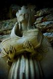 Estátua de Queen Mary imagens de stock