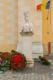 Estátua de Queen Mary fotos de stock