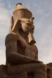 Estátua de Ramses II fotografia de stock royalty free