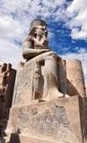 Estátua de Ramses II, Templo de Luxor, Egito velho imagem de stock